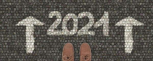 2021 with shoes in front